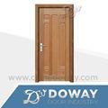 China qualidade mdf/hdf madeira maciça pintura folheado porta de madeira interior
