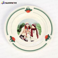 sublimation plat wedding ceramic plate
