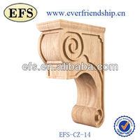 antique solid wood decorative wall brackets(EFS-CZ-14)