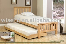 (W-B-0028) solid wood design sofa wall bed