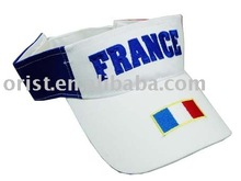 sun visor with logo