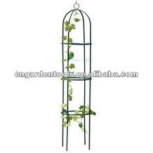 Garden Iron Obelisk Trellis