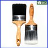 Wooden Handle Plastic Filament Paint Brush