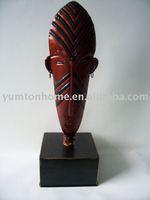 Polyresin decorative goldfish figurine