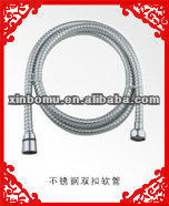 brass flexible toilet shower hose