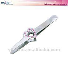 G277D Eyebrow Tweezers with Jewellery