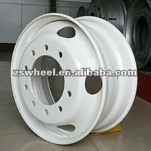 white spoke truck steel wheel 24.5x8.25