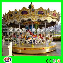 Amusement park double cornice carousel for sale