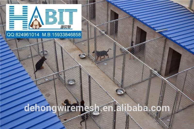 Welded Mesh Dog Kenel Fence/Dog House