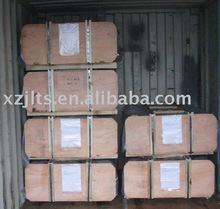 RP 250mm graphite electrode with high bulk density used in steel furnace