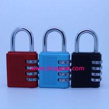 4 digit combination padlock