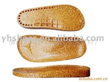Hot sale cork wood children's outsole