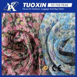 Chiffon Fabric Blue Print/Summer Dress Chiffon Fabric/Chiffon Fabric Evening Dresses