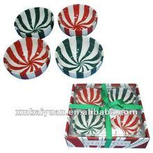 Colorful wholesale salad bowl ceramic bowl