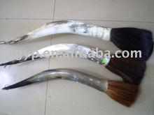 horn writing brush, deer horn Chinese writing brush pen