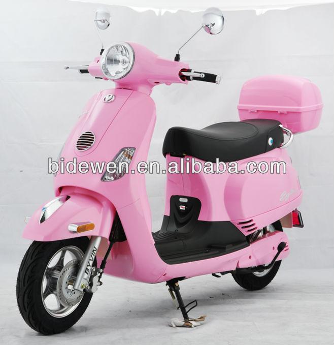 de gran alcance 800w 60v scooter eléctrico para el mercado de japón
