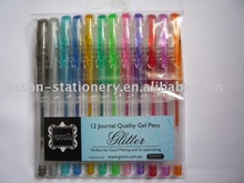 12pcs glitter gel pen set