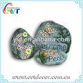 piedra de cerámica de adornos de jardín
