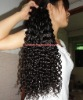 New designed african american's culry virgin malaysian hair for black women
