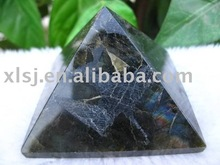 Natural Rock Labradorite Pyramid