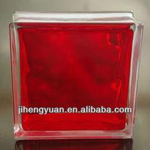 Inner red glass block