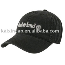 embroidered men ballcap 100% cotton black color baseball cap