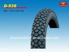 Newest Diamond brand motorcycle tubeless tyre