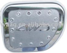 TY81004-toyota parts ABS Chromed Tank Cover For Toyota Prado FJ150 10+car exterior accessories