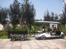 6 Seater Sightseeing Cart With Cargo Box