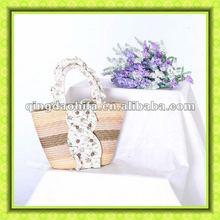 2012 Fashion Natural Wheat Straw Handbag
