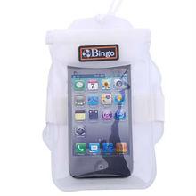 Bingo phone waterproof bag for iphone in swimming diving