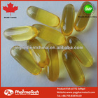 Health Canada GMP certified Omega 3 Fish oil EPA18%/DHA12% 1000mg softgel capsule