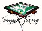 Mahjong Table Foldable Mahjong Table Wooden Mahjong Table with metal legs