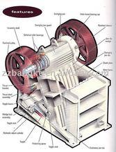 Energy saving mobile shale jaw crusher
