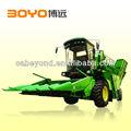 Self-propelled combine harvester machine