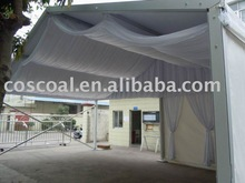 wedding tent, party tent with lining and curtain