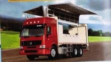HOWO 6*4 Wingspan Van Truck ZZ1257M5841W