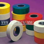 Red grey blue brown color adhesive pvc tape with non flame retardant and flame retardant, PVC insulation tape