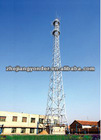 High quality telecommunication steel monopole tower