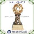 Personalizados resina costumbre fútbol trophy sport artes y oficios