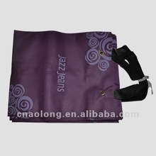 advertising custom logo non-woven cloth tote bag