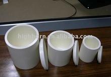 zirconia ceramic crucible for melting platinum