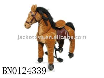 Pferd Reiten Spielzeug Fahrt Auf Spielzeug Pferd