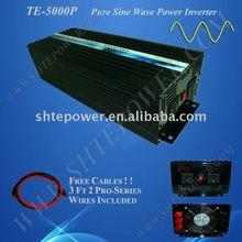24v dc 220v ac sine wave power inverter 5000W/ Peak 10000W Pure Sine Wave