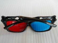 polarized 3D glasses for nearsighted red blue cyan lens plastic frame UV 400 best price(SHG-9824)