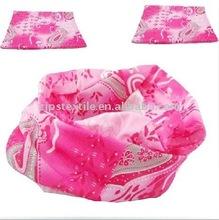 Pink with various patten Multi Elastic Tube Bandana