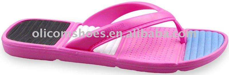 Mujeres soft EVA zapatillas para 2015, Mujeres desnudas suave zapatillas de tacón alto, Niza mujeres de playa zapatillas