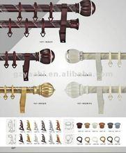 28mm Double Iron decorative curtain pole Curtain Rods