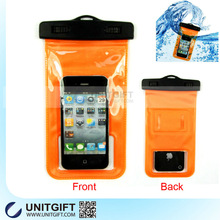 Funny mobile phone PVC case waterproof