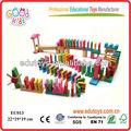 2013 nueva de madera domino los niños juguetes